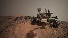 Mit fast 900 Kilogramm und 3 mal 2,8 Metern ist er der größte mobile Forschungsroboter, der bislang auf den roten Planeten geschickt wurde.