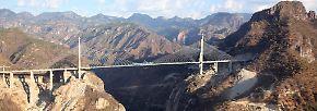 Hunderte Meter über dem Boden: Das sind die höchsten Brücken der Welt
