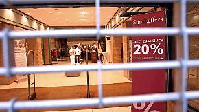 Weitere Pleite für Wöhrl: SinnLeffers ist wieder zahlungsunfähig