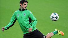 Lars Stindl will Borussia Mönchengladbach in Manchester zum Sieg schießen.
