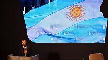 Mauricio Macri verspricht die Öffnung seines Landes.
