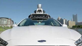 Robo-Fahrten per App buchbar: Uber schickt selbstfahrende Taxi-Flotte auf Straßen von Pittsburgh
