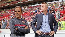 Trio als Trainer-Zwischenlösung: Entnervter Luhukay gibt in Stuttgart auf