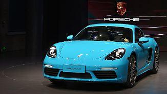 Kleinster Spross der Porsche-Familie: Der neue Cayman 718 ist ein Alleskönner