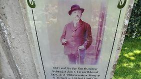 Eduard Lass wagte den Versuch, den Kohl aus dem Bauerngarten aufs Feld zu holen.