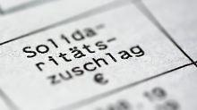 Ministerium hat rechtliche Bedenken: Bericht: Schäuble plant Ende des Soli