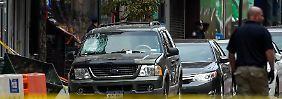 Sprengstoffanschlag in New York: Passanten endecken weiteres verdächtiges Paket