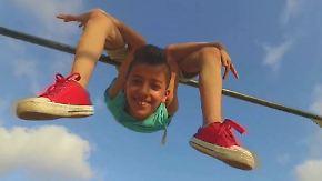 Vom Gazastreifen ins Guinness-Buch: Spiderboy will die Welt erobern