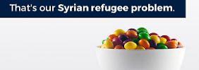 Schlecht in Mathe: Trump Jr. vergleicht Flüchtlinge mit Skittles