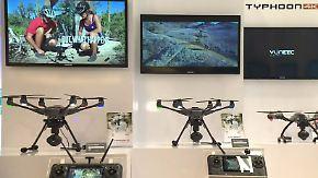 Vom Hobbyflieger bis zum Paketlieferer: Neue Extras lassen Drohnen-Fans staunen