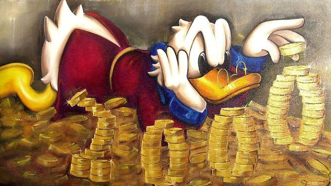 Während Dagobert Duck sein Vermögen hortet, wollen einige Millionäre ihren Reichtum freiwillig teilen.