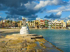 Malerisch bunt: Birzebbuga auf Malta.