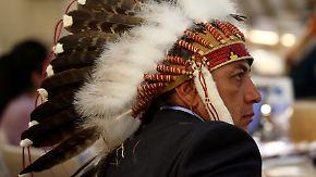 Kultstätten von Pipeline bedroht: Sioux-Indianer leisten Widerstand