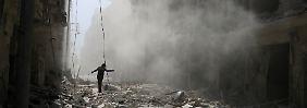 Aleppo versinkt im Bombenhagel: Westen warnt Moskau