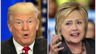 Steckbriefe über Clinton und Trump: US-Präsidentschaftskandidaten im Portait und ihre Chancen auf die Wahl