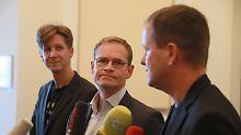 Neuer Senat in der Hauptstadt: Parteispitzen in Berlin wollen Rot-Rot-Grün