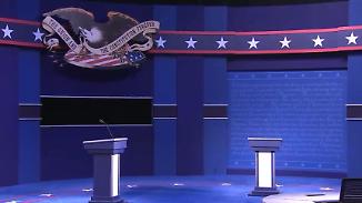 Showtime in den USA: So bereiten sich Clinton und Trump auf das TV-Duell vor