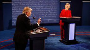 TTIP in TV-Debatte: Clinton und Trump duellieren sich in Wirtschafts-Themen