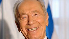 Gründervater Israels: Schimon Peres stirbt im Kreise seiner Familie