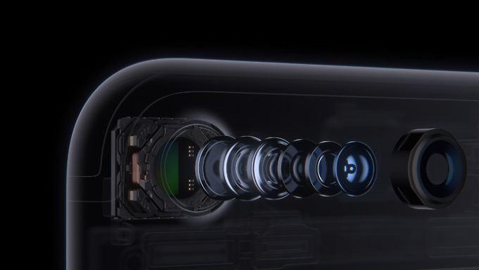 Die Kamera des iPhone 7 ist trotz sehr kompakter Bauweise fast so gut wie die Erstplatzierten in der DxOMark-Bestenliste.
