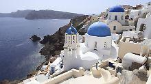Mehr Weddingplaner als Polizisten: Santorini - Traumziel für Heiratswillige