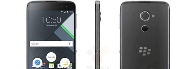 Starkes Android-Handy kommt: Blackberry greift nochmal an