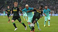 45-Minuten-Wunder gegen Barca: Gladbach verpasst CL-Sensation