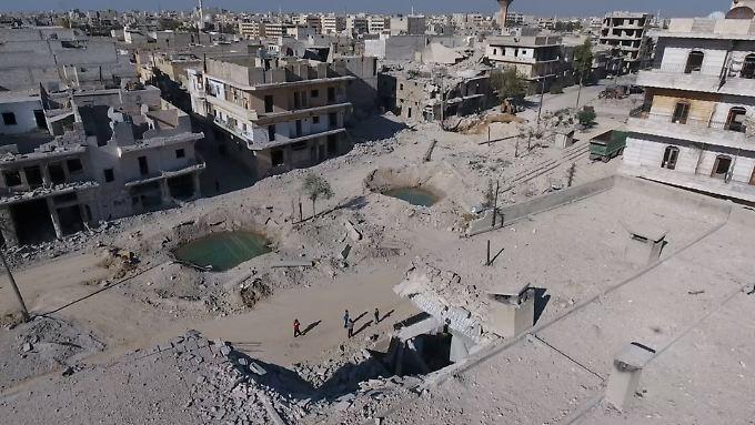 Die russische Regierung schließt eine einwöchige Feuerpause im komplett zerstörten Aleppo aus.