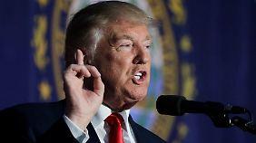 Steuererklärung von 1995 aufgetaucht: Trump könnte 18 Jahre keine Steuern gezahlt haben