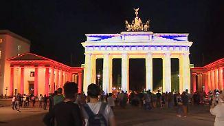 """Lichterzauber in der Hauptstadt: Berlin strahlt beim """"Festival of Lights"""""""