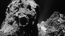 Wir werden nie wieder etwas von ihnen hören: Auf dem entenförmigen Kometen sind Rosetta und Philae nun wieder vereint.
