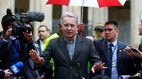 Gegner des Vertrages: Ex-Präsident Álvaro Uribe.