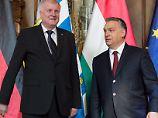 """""""Geschichtsvergessen und grundfalsch"""": Streit um Orban-Auftritt im Landtag"""