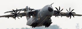Mehrkosten statt Verkauf: Bundeswehr bleibt auf 13 A400M sitzen