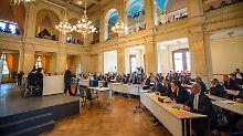 Vizepräsidentschaft geht an Linke: Schweriner Landtag lässt AfD abblitzen