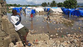 Gefährliches Hochwasser in Haiti: Port-au-Prince versinkt im Schlamm