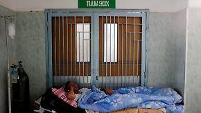 Versorgungsengpässe durch Wirtschaftskrise: Venezuelas Krankenhäuser können Patienten nicht behandeln
