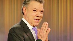 Juan Manuel Santos: Friedensnobelpreis geht an kolumbianischen Präsidenten