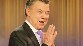 Kolumbianischer Präsident geehrt: Friedensnobelpreis geht an Juan Manuel Santos
