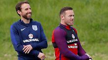 """Debüt als England-Trainer: """"Three Lions"""" setzen auf Southgates Ruhe"""