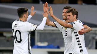 "Es ""müllert"" gleich doppelt: DFB-Elf begeistert gegen Tschechien"