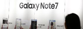 Der Smartphone-Gau: Samsung stellt Produktion von Galaxy Note 7 ein