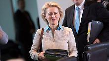 Bericht: Tadel vom Rechnungshof: Von der Leyen gibt Millionen für Berater aus