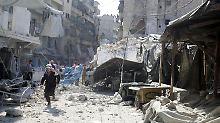 Seit dem Abbruch der Syrien-Gespräche am 22. September verloren Dutzende Menschen ihr Leben bei Luftangriffen.