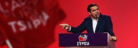 Weitere harte Sparmaßnahmen?: Tsipras zieht Bilanz und wettert gegen Berlin