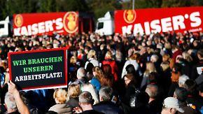 Drohbild eines zweiten Schlecker-Szenarios: Kaiser's-Tengelmann-Zerschlagung bedroht Tausende Jobs