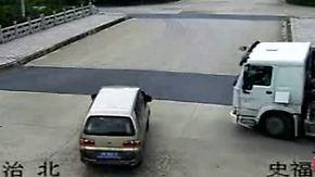 Kaum zu glauben, aber wahr: Fahrer überleben Horror-Unfall