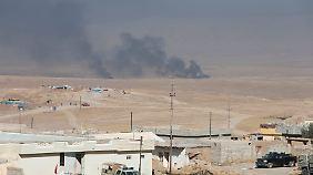 Auf dem Weg nach Mossul nehmen Peschmerga sieben Dörfer östlich der Stadt ein.