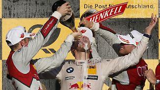 DTM-Finale auf dem Hockenheimring: Mortara gewinnt das Rennen, Wittmann den Titel