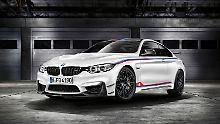 Von der DTM-VErsion des BMW M4 werden lediglich 200 Stück gebaut.